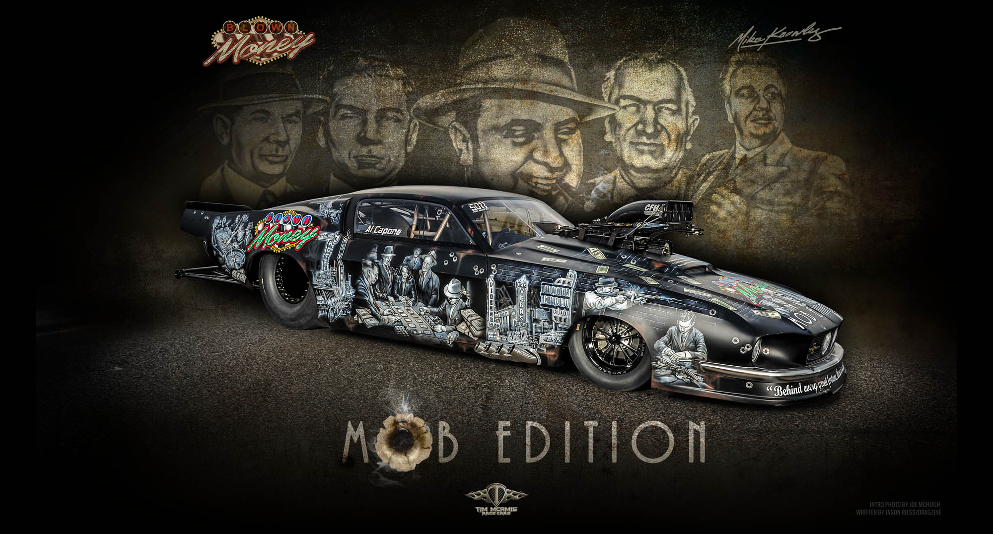 Mike Knowles\' Blown Money Mob Edition \'67 Mustang Pro Mod | Tim ...