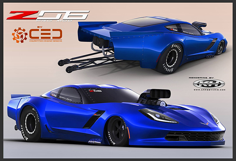 Ced To Debut 2015 Z06 Corvette Pro Mod Tim Mcamis