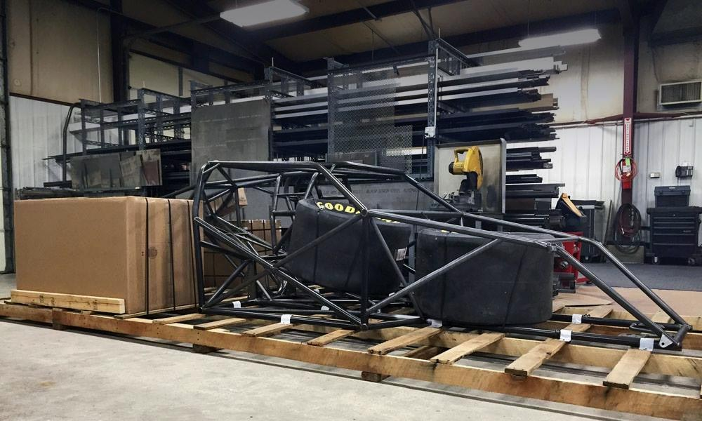 Chassis Shipping Crate