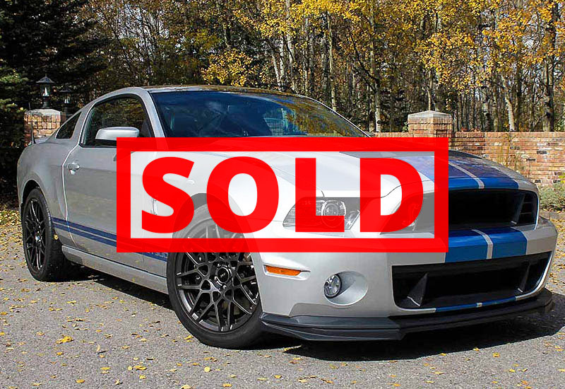 2013 Shelby GT500 Coupe Sold